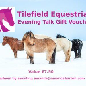 Tilefield Evening Talk Gift Voucher
